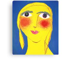 Eileen on her Birthday Canvas Print