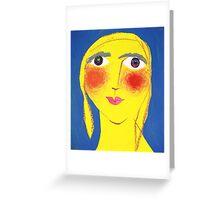 Eileen on her Birthday Greeting Card