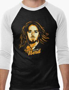 Rock 'N' Roll Nerd Men's Baseball ¾ T-Shirt