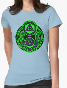 GeoCoin Color V1 Womens Fitted T-Shirt