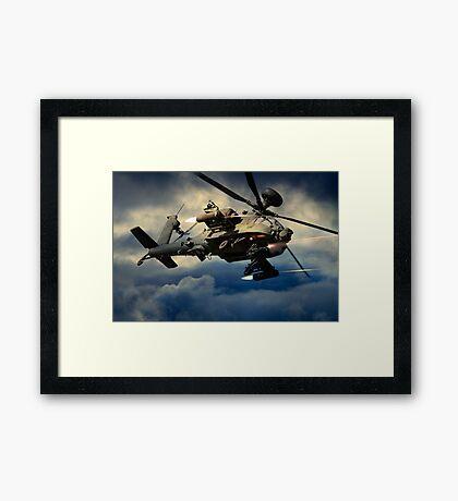 Apache - Winchester Framed Print