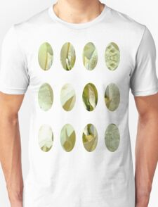 Pale Yellow Poinsettia 1 Art Circles 2 Unisex T-Shirt