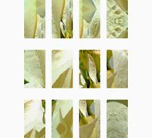 Pale Yellow Poinsettia 1 Art Rectangles 2 Unisex T-Shirt