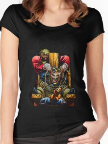 Captured Bat Women's Fitted Scoop T-Shirt