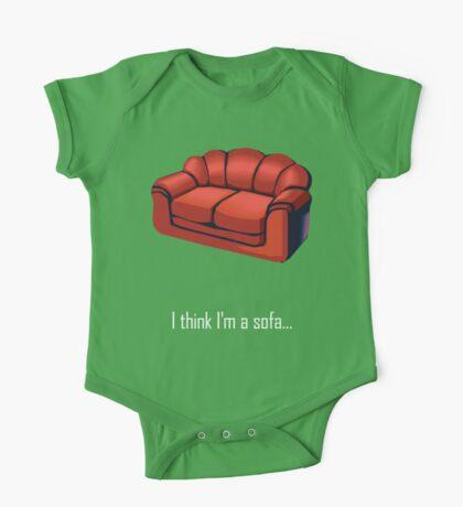 I think I'm a sofa... One Piece - Short Sleeve