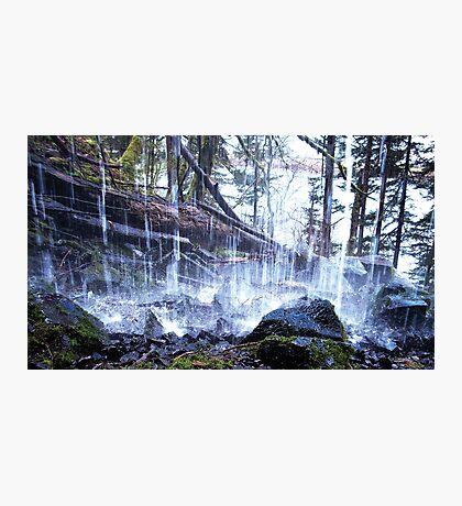 Cold Splash Photographic Print
