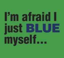 I'm afraid I just blue myself... Kids Clothes