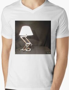 Articulated Desk Lamps - Copper and Chrome Collection - FredPereiraStudios_Page_03 Mens V-Neck T-Shirt