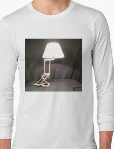 Articulated Desk Lamps - Copper and Chrome Collection - FredPereiraStudios_Page_01 Long Sleeve T-Shirt