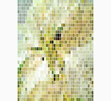 Pale Yellow Poinsettia 1 Mosaic Unisex T-Shirt