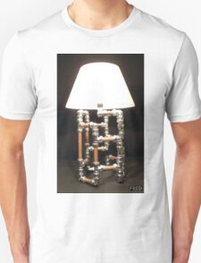Articulated Desk Lamps - Copper and Chrome Collection - FredPereiraStudios_Page_12 Unisex T-Shirt