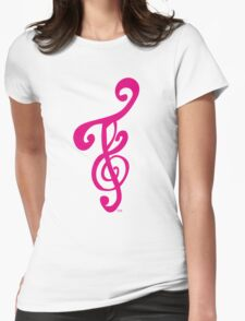 FOTS - T-SHIRT (HOT PINK) Womens Fitted T-Shirt