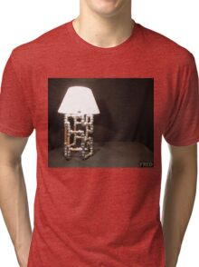 Articulated Desk Lamps - Copper and Chrome Collection - FredPereiraStudios_Page_13 Tri-blend T-Shirt