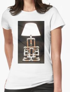 Articulated Desk Lamps - Copper and Chrome Collection - FredPereiraStudios_Page_17 Womens Fitted T-Shirt