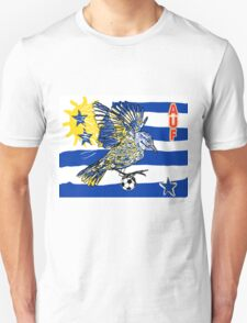 Uruguay Quest for Brazil World Cup 2014 T-Shirt