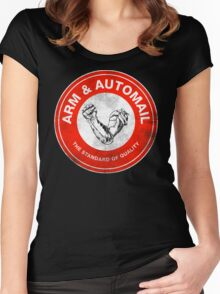 Arm & Automail Women's Fitted Scoop T-Shirt