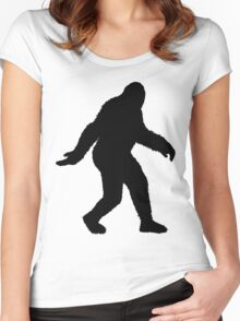 Sasquatch Women's Fitted Scoop T-Shirt