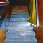 Stray Breeze on the Stairs by RC deWinter