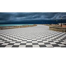 Terrazza Mascagni - Livorno Photographic Print