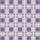 Purple Tile Pattern by afeimages