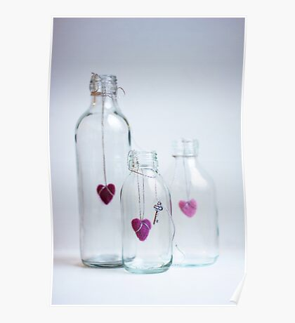 Bottles with love Poster