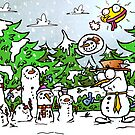 Trevor the Lonely Snowman by MattHercock1