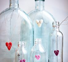 Love in bottles by Arina Borevich