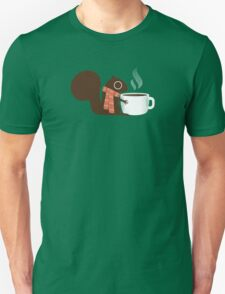 Squirrel Coffee Holiday T-Shirt