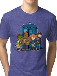 DR Chew (11) Tri-blend T-Shirt