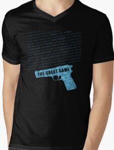 The Great Game fan poster Mens V-Neck T-Shirt