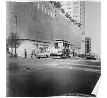 Vintage Streetcar Trolley 2416 Poster