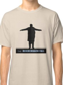 The Reichenbach Fall fan poster Classic T-Shirt