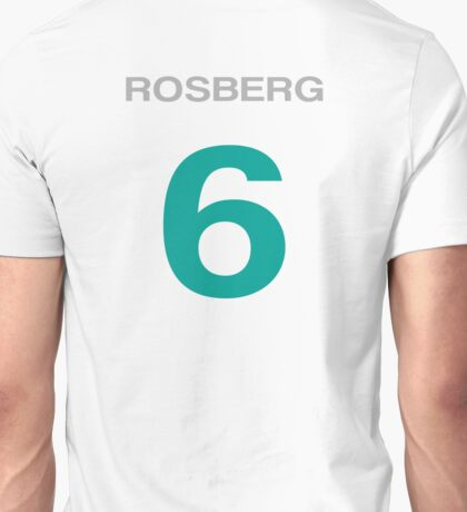 Rosberg 6 Unisex T-Shirt
