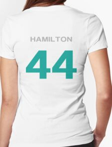 Hamilton 44 Womens Fitted T-Shirt