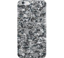 Military camouflage urban grey iPhone Case/Skin