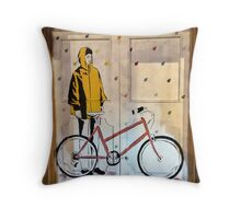 Tokyobike by Zabou Throw Pillow