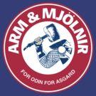 Arm and Mjolnir by PureOfArt