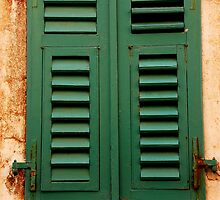 The Window Shutter by Imi Koetz