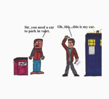 Doctor Who Valet by chazzledazzle