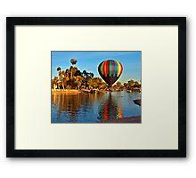 Vibrant Reflections Framed Print