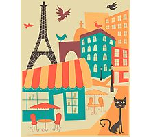 PARIS CAFE Photographic Print