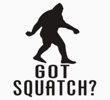 Got Squatch Silhouette by thebigfootstore