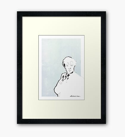 Sherlock Holmes: Consulting Detective Framed Print