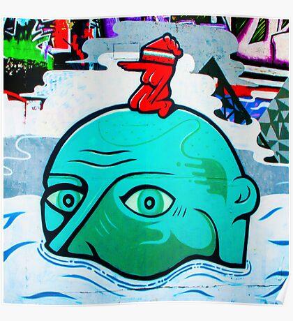 Graffiti : Brighton Poster