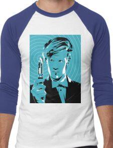 The Eleventh Doctor (Blue) Men's Baseball ¾ T-Shirt