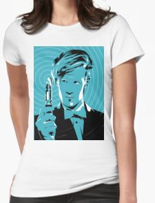 The Eleventh Doctor (Blue) Womens Fitted T-Shirt
