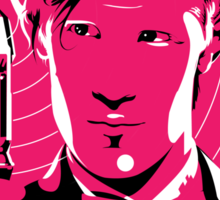 The Eleventh Doctor (Pink) Sticker
