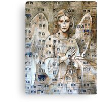 Angel Of The Missing Canvas Print
