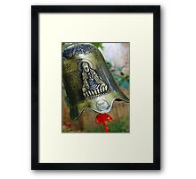 Silence Within The Sound Framed Print