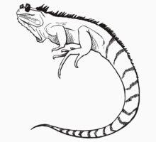 Iguana in the Sun  by ivory-breath
